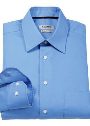 Шикарная бизнес рубашка Nobel League. Regular Fit . L ворот 40