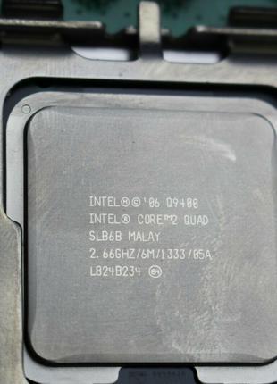 Q9400 Intel Core 2 Quad Q9400/6M/1333