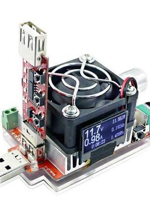 Набор: USB тестер - нагрузка 35 Вт JUWEI J7-f + триггер (trigger)