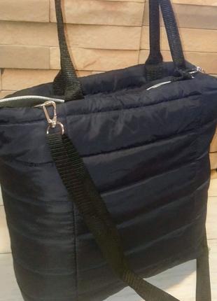 Женская стёганая сумка