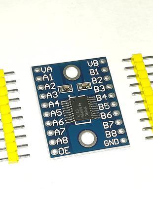 Преобразователь уровней 8-канальный на микросхеме TXS0108E