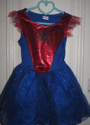Платье карнавальное.5-6 лет.рост 116см