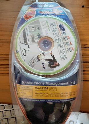 USB Дата-Кабель Для Samsung E700 + CD Mobidick MA-8230P