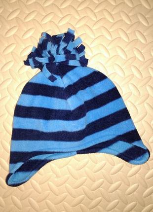Флисовая шапочка на хлопковой подкладке