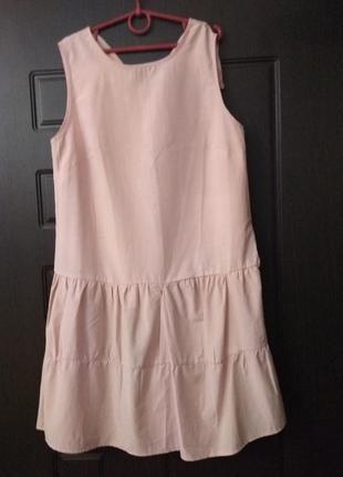 Стильное летнее платье хлопок