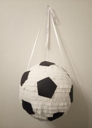 Большая пиньята футбольный мяч
