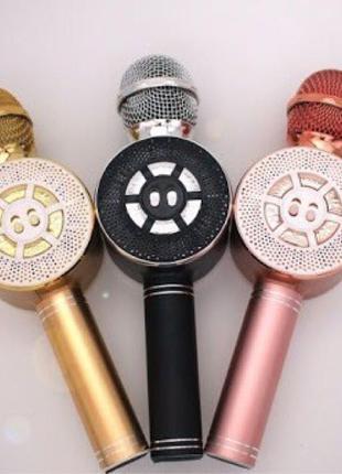 Микрофон - караоке беспроводной колонка 669