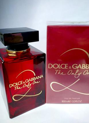 Dolce & Gabbana The Only One 2_Оригинал EDP_5 мл затест парф.вода