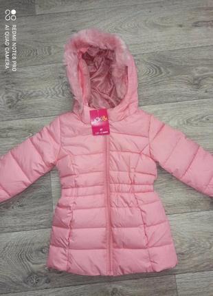 Деми удлиненная куртка kiki&koko рост 92 см