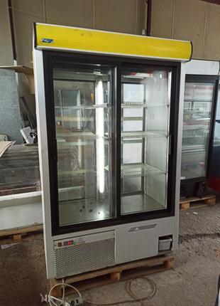 Шкаф-витрина холодильный бу, шкаф холодильный купе бу, Стеллаж бу