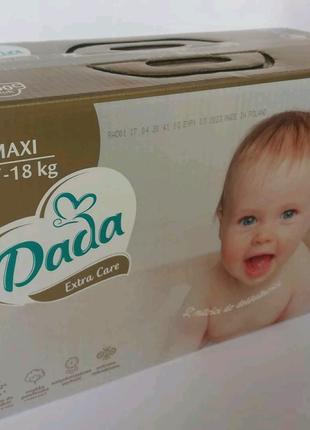 Подгузники памперсы Дада Dada Extra care мегапак
