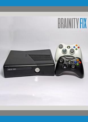 ГАРАНТИЯ 1 Год Xbox 360 Slim 500GB ПРОШИТА Freeboot + Игры