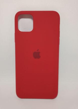 Задня накладка iPhone 11 Pro Max Original Soft Case Red