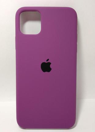 Задня накладка iPhone 11 Pro Max Original Soft Case Purple