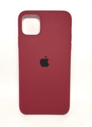 Задня накладка iPhone 11 Pro Max Original Soft Case Marsala