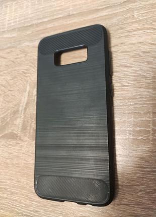 Чехол, накладка, бампер Samsung Galaxy S8 тёмно-серый .