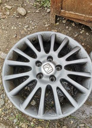 Диски литые титаны графитовые Honda Хонда R17 / 114,3×5