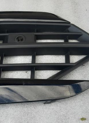 Volkswagen Touareg R-LINE (c 18) Накладка бампера 760853663A