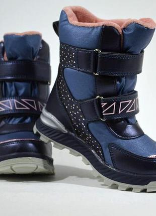 Зимние термо ботинки сказка сноубутсы черевики сноубутси для д...