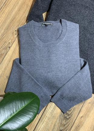 Реглан, пуловер 100% шерсть