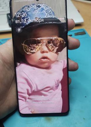 Дисплей на Samsung SM-G985 Samsung galaxy S20+ Plus. С дефекто...