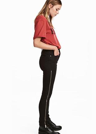 Оригинальные джинсы super skinny high от бренда h&m разм. 44