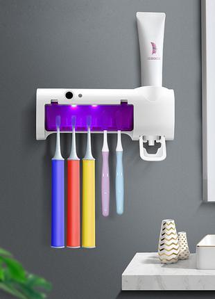 Диспенсер для зубной пасты и стерилизатор для щеток Toothbrush