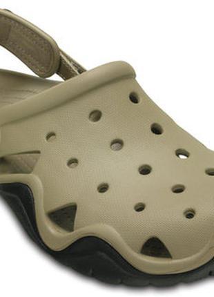 Кроксы crocs  swiftwater clog р. 40, 41