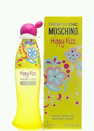 Туалетная вода Moschino Cheap & Chic Hippy Fizz ,100 мл