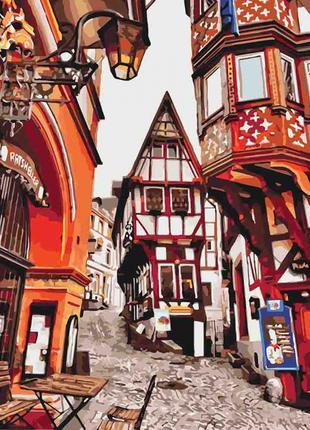 Картина по номерам Яркие улицы Германии 3539