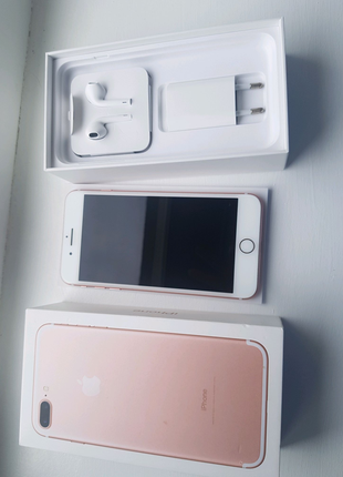 Iphone 7 Plus,Rose Gold,32 GB,Neverlock