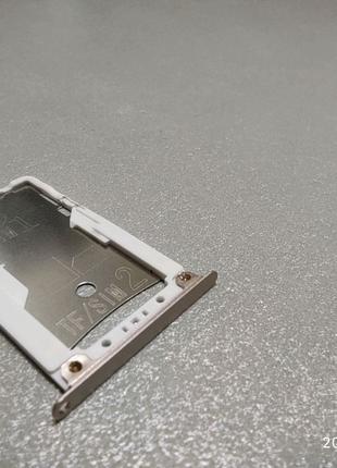 Лоток сім карти Xiaomi redmi 4