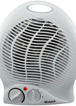 Мощный Тепловентилятор электрический обогреватель Wimpex WX-425