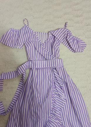 Летнее хлопковое платье