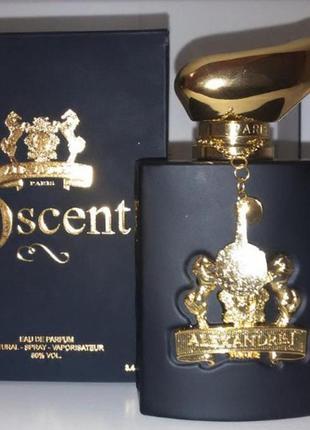 Alexandre.j oscent black парфюмированная вода, тестер, 100 мл