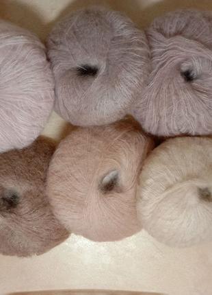 Пряжа/мохер/нитки для вязания
