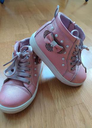 Детские ботиночки для девочки р. 26