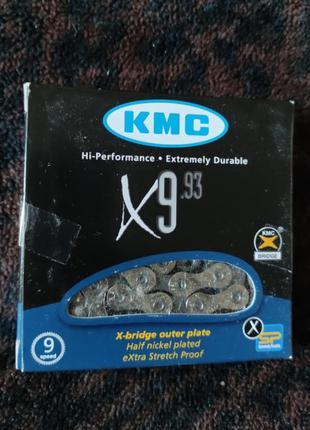 KMC X9.93 (9 sp.) с замочком