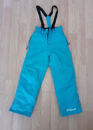 Теплые зимние штаны, комбинезон