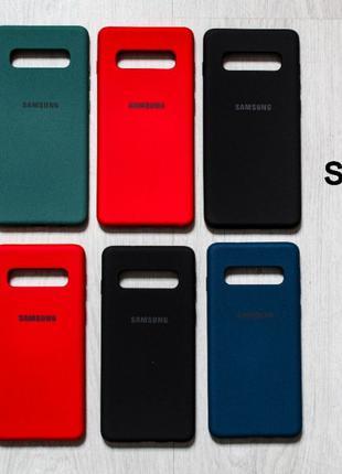 Силиконовый чехол на Samsung Galaxy S8 S9 S10 S20 Plus S10e S2...