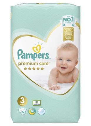 Подгузники Pampers Premium care р. 1, 2, 3, 4, 5 памперс премиум