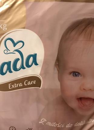 Dada extra care Premium 1 2 3 4 5 6 Экстра кеа дада подгузник ...