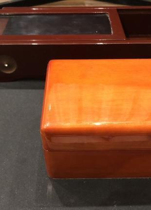 Шкатулка деревянная, коробка от часов