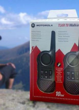 Радиостанция (рация) Motorola PMR TLKR T8 (КОМПЛЕКТ)