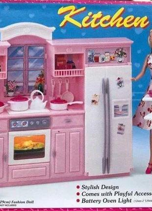 Кукольная мебель детская кухня