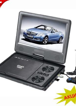 Портативный DVD телевизор Т2 9,8″ EVD NS-958 + USB +SD + джойстик