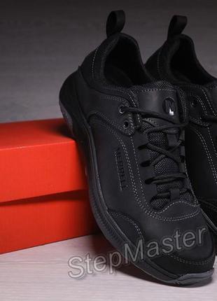 Кроссовки мужские кожаные merrell urban nubuck black