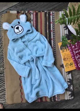 Халат 9-12мес bathrobe baby