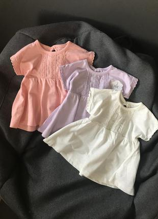 Комплект платьев платье george 3-6мес сукні туніки
