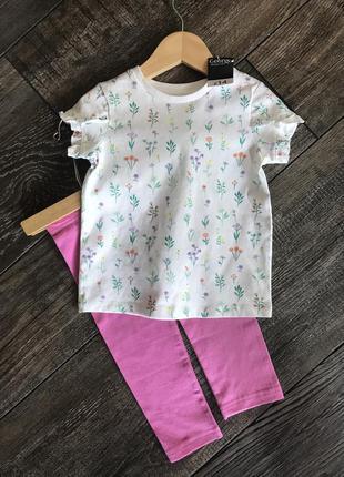 Комплект 18-24мес george crafted футболка лосины